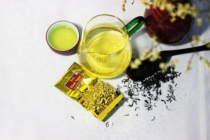 Cách pha trà đinh Thái Nguyên ngon