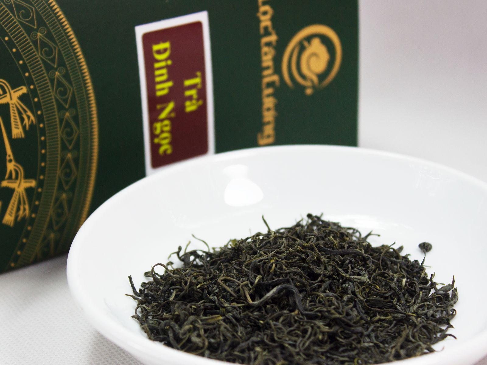 Cánh trà đinh Thái Nguyên sau khi thành phẩm