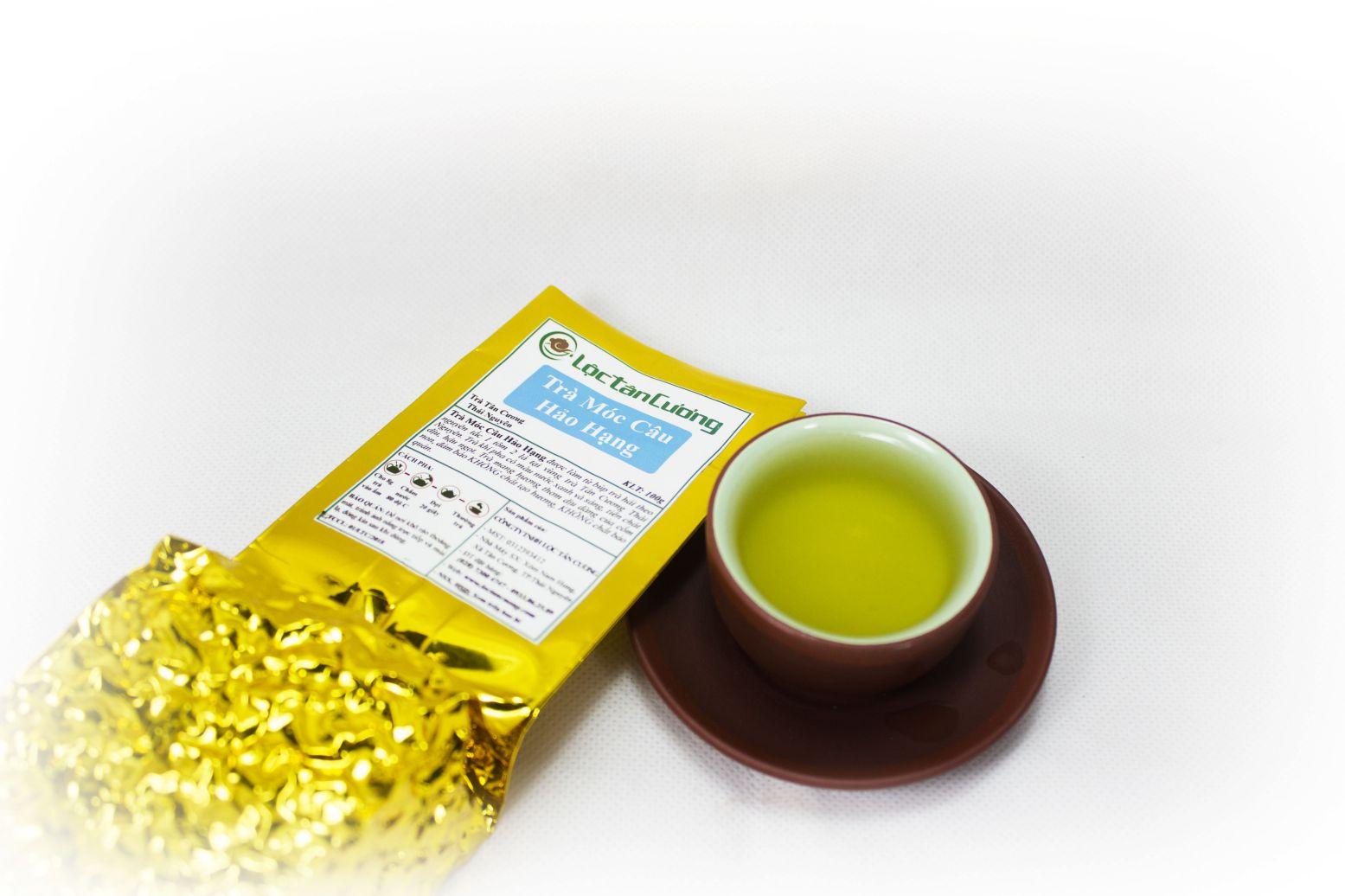 Trà móc câu thái nguyên hảo hạng có hương vị thơm ngon đậm đà và mang lại nhiều sức khỏe cho người dùng