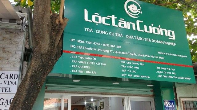 Địa chỉ mua trà tại quận Bình Thạnh