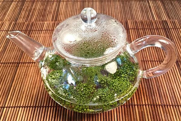 hoa tam thất được sử dụng như trà uống hằng ngày