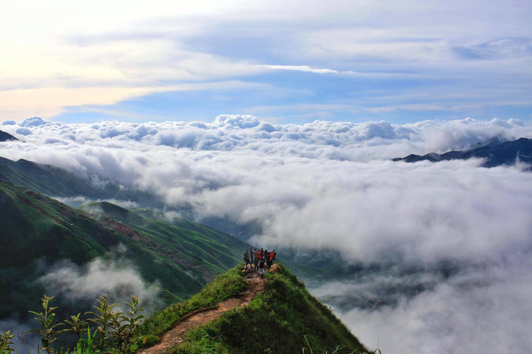 Một phần của vùng núi Tà Xùa - Sơn La