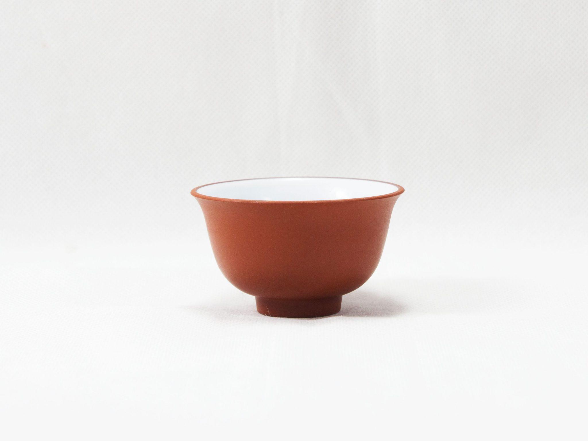 Chén uống trà tử sa màu đỏ