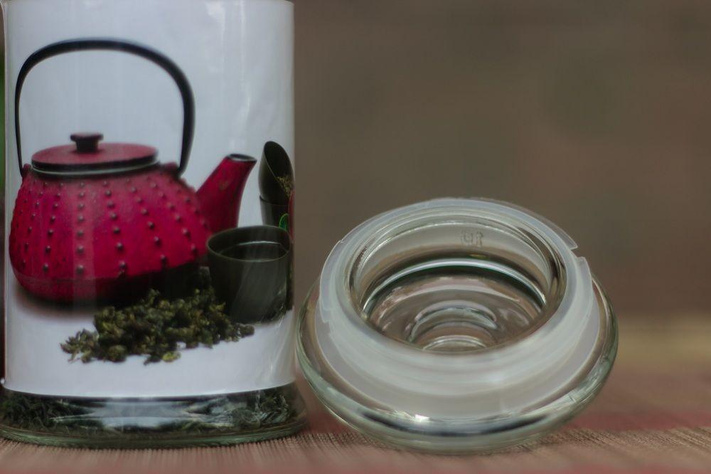 Hũ đựng trà thủy tinh