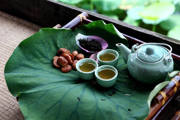 Trà sen hồ tây Hà Nội - đặc sản trà Việt Nam