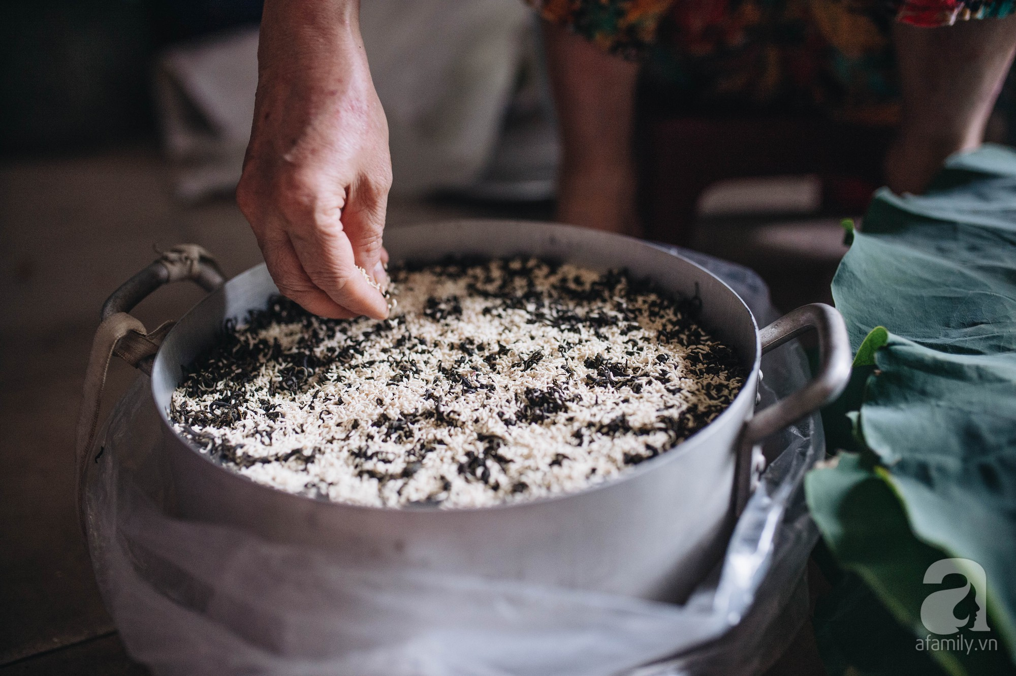 Cách ướp trà sen tây hồ