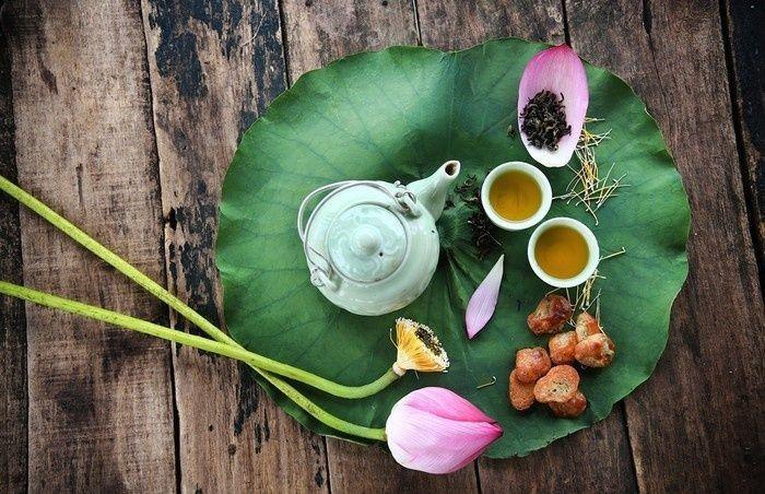 Trà sen rất dễ mất hương nên các bạn phải để ý kĩ việc bảo quản trà