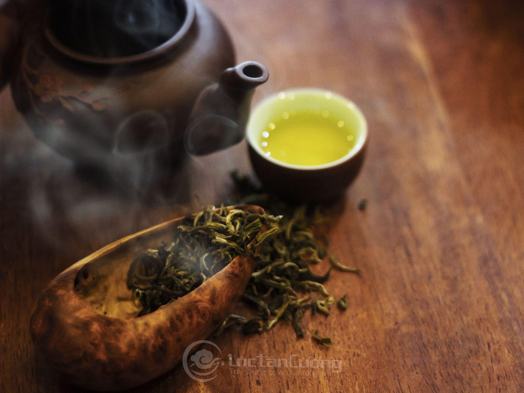 Công dụng của trà shan tuyết đối với việc làm chậm tiến trình lão hóa