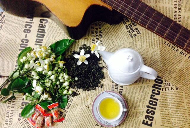 Để có được một ấm trà hoa bưởi hảo hạng bạn cần phải chú ý đến nhiệt độ và lượng nước