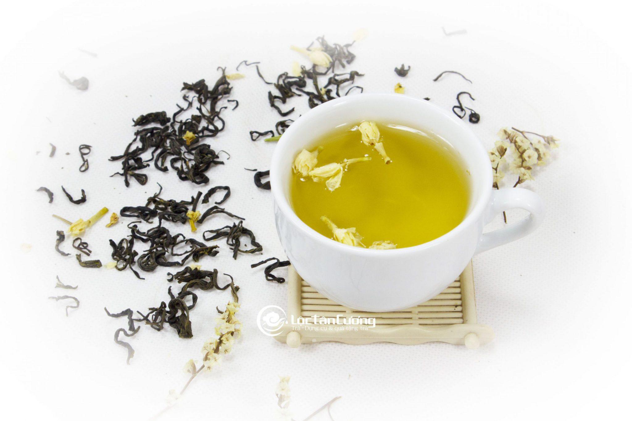 Trà lài ướp hoa tự nhiên - là một trong những loại trà bắc ướp hoa được ưu chuộng nhất