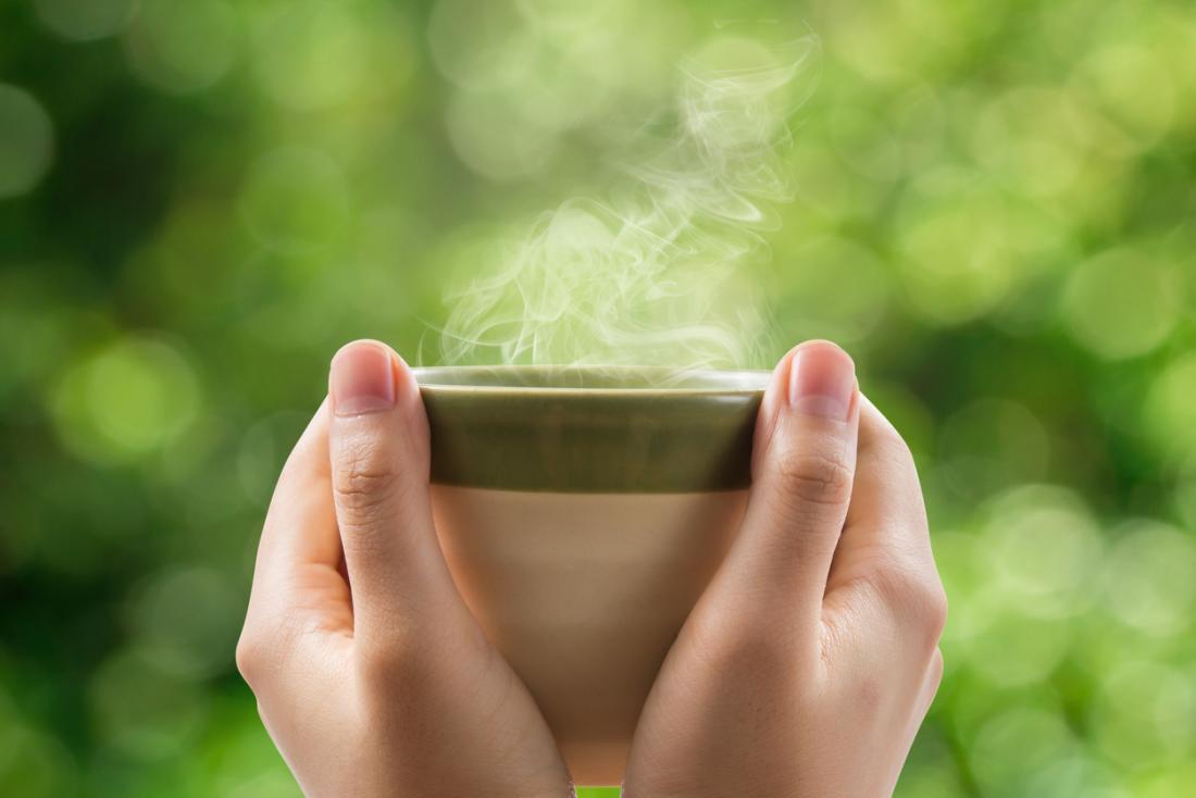 Ngoài hương hoa làm thư giãn tinh thần thì trà hoa sói còn có đầy đủ các lợi ích như của trà xanh thông thường
