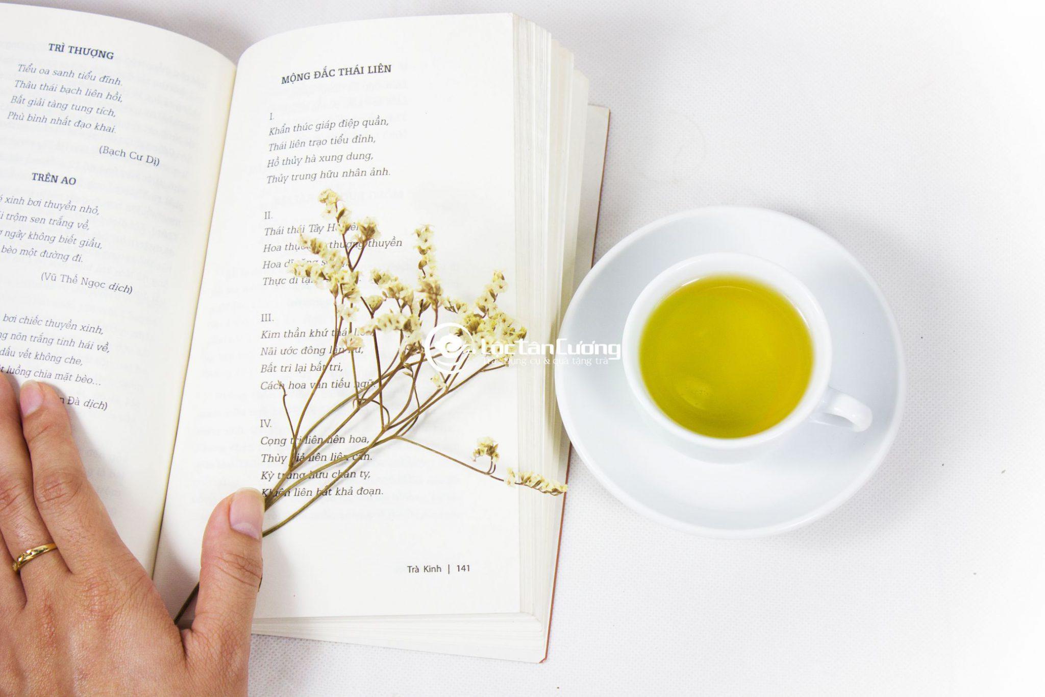 Những thành phần dinh dưỡng trong lá trà được ví như những vị thần dược cho sức khỏe con người