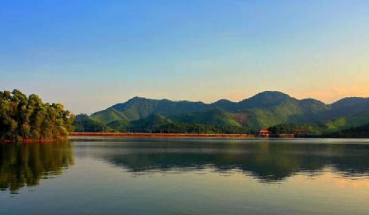 Hình ảnh Hồ Núi Cốc Thái Nguyên đẹp tuyệt mỹ