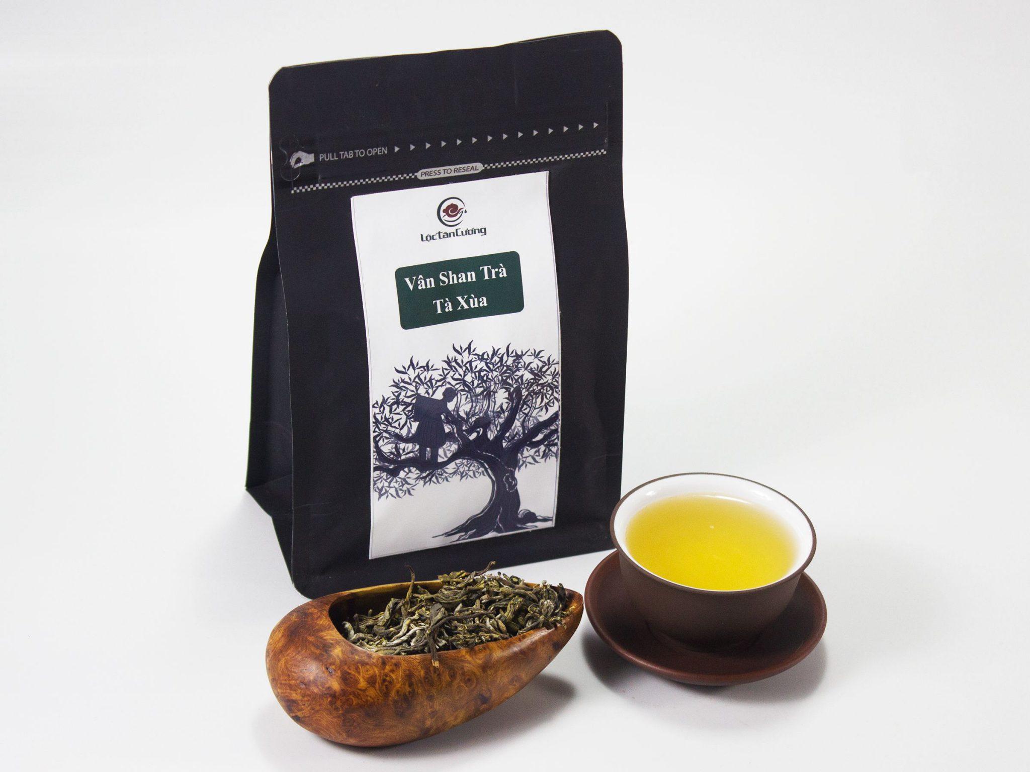 Cánh vân shan trà Tà Xùa tại Lộc Tân Cương. Giá chè shan tuyết: 1.800.000đ/1kg