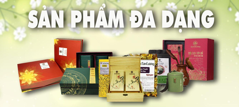 Sản phẩm trà bắc tại Lộc Tân Cương, đa dạng mẫu mã và chất lượng