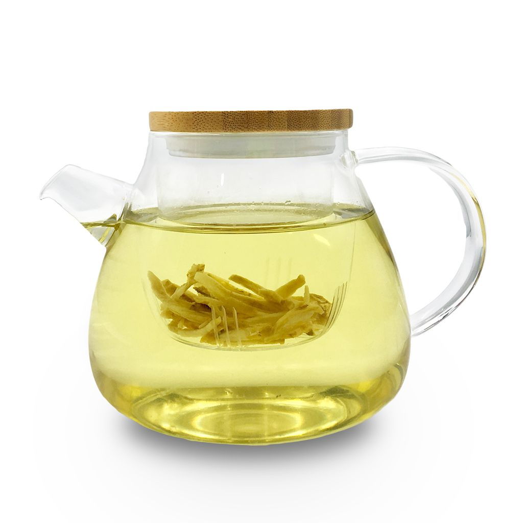 trà cúc kết hợp với gừng tạo nên một thức uống hài hòa âm dương.