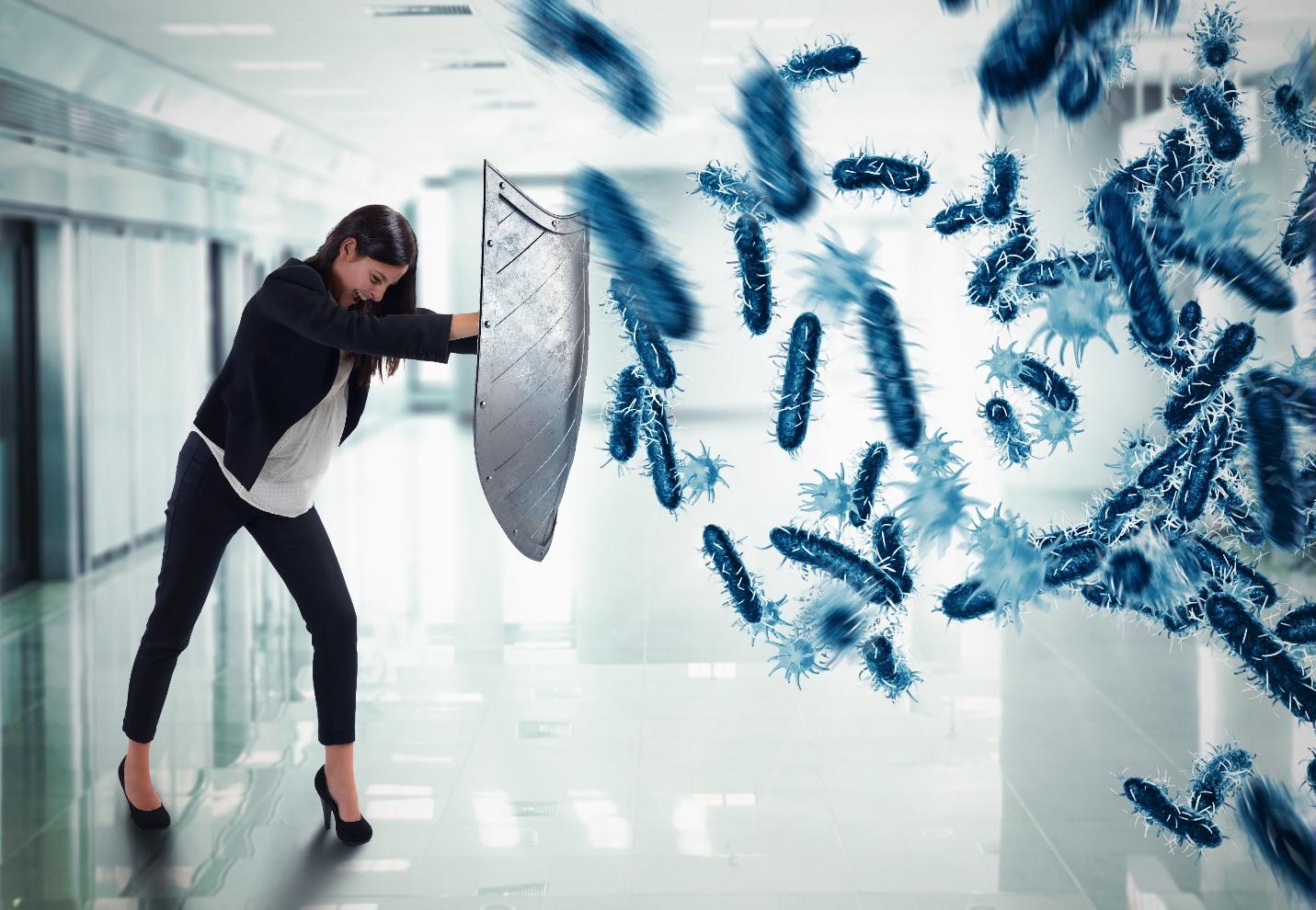 Tăng hiệu quả của kháng sinh, tăng cường khả năng chống khuẩn