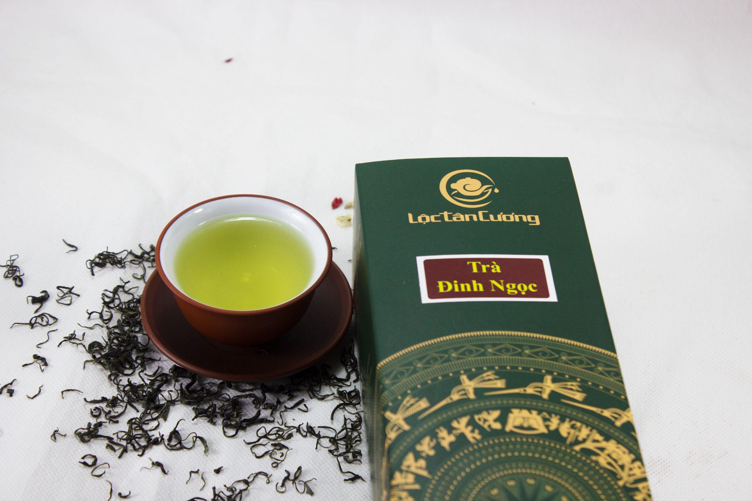 Trà đinh chỉ sản xuất từ 1 đọt non (tôm) thì được xem là loại trà thái nguyên thượng hạng, cao cấp.