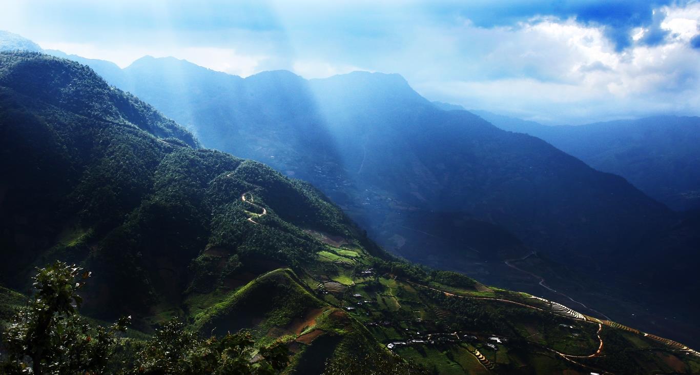 Một góc cảnh đẹp ở Suối Giàng - Yên Bái