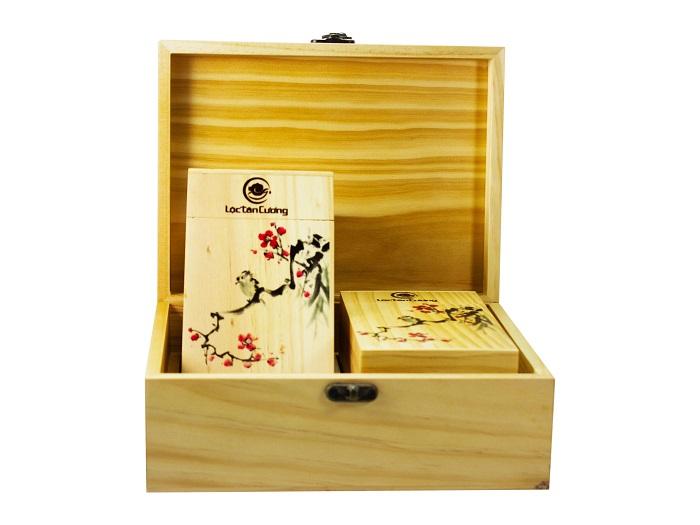 Hộp quà tặng trà Đinh Ngọc Thái Nguyên