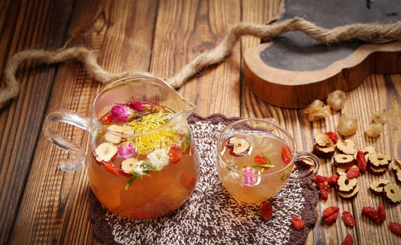 Chè dưỡng nhan có công dụng giúp dưỡng nhan sắc đẹp từ bên trong
