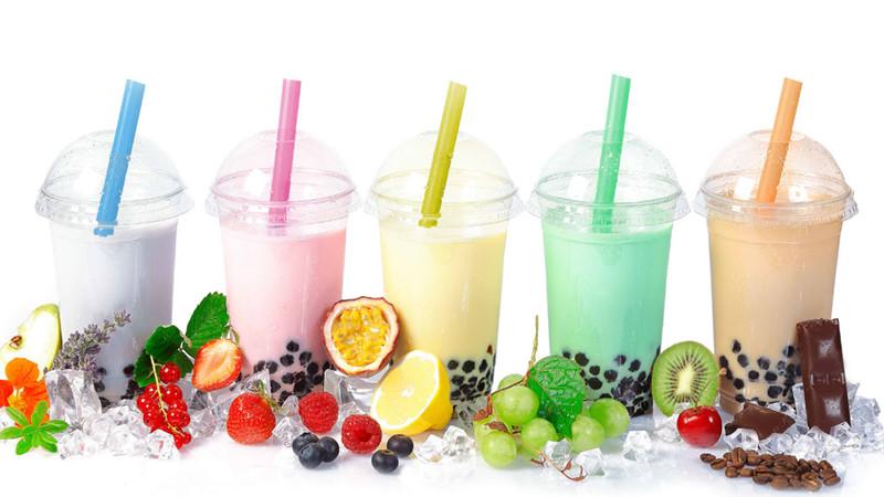 cách pha các loại trà sữa hương trái cây