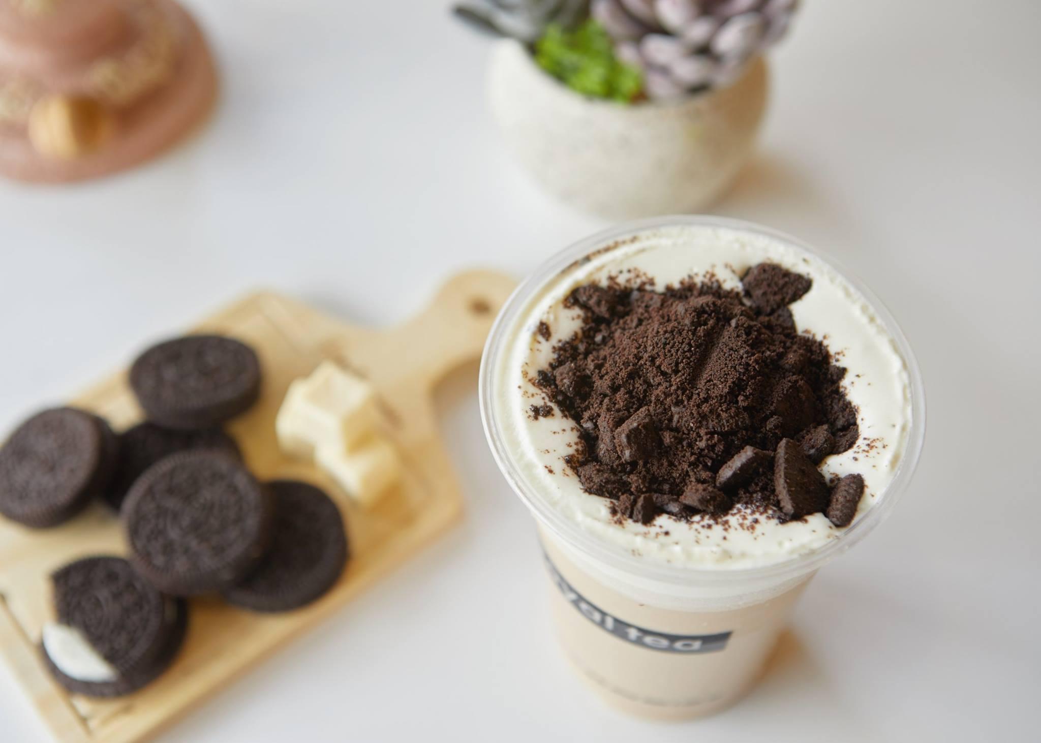 Cách làm trà sữa Oreo Cake Cream