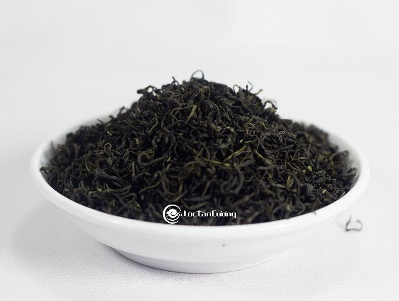 Trà xanh thái nguyên pha trà sữa