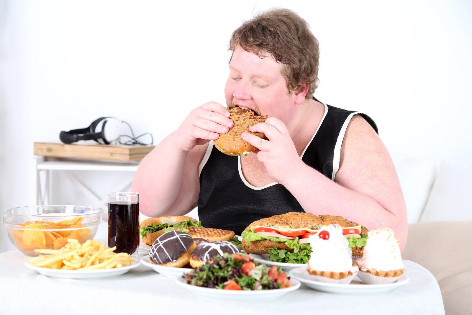 Chế độ dinh dưỡng bất hợp lý khiên năng lượng tích trữ tăng một cách chóng mặt