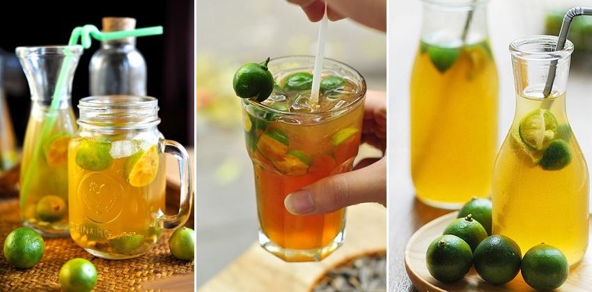 Trà tắc là thức uống được ưa chuộng với hương vị thơm ngon, bổ dưỡng