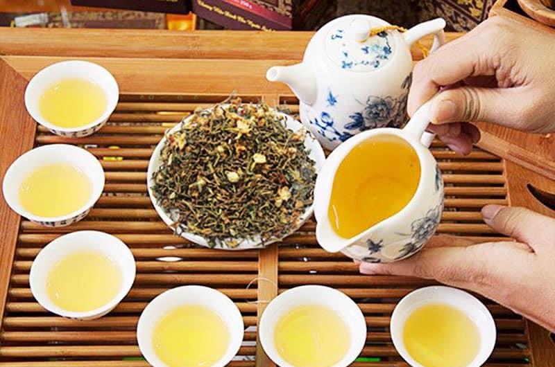 trà hồng sâm rất hiệu quả trong điều trị mất ngủ
