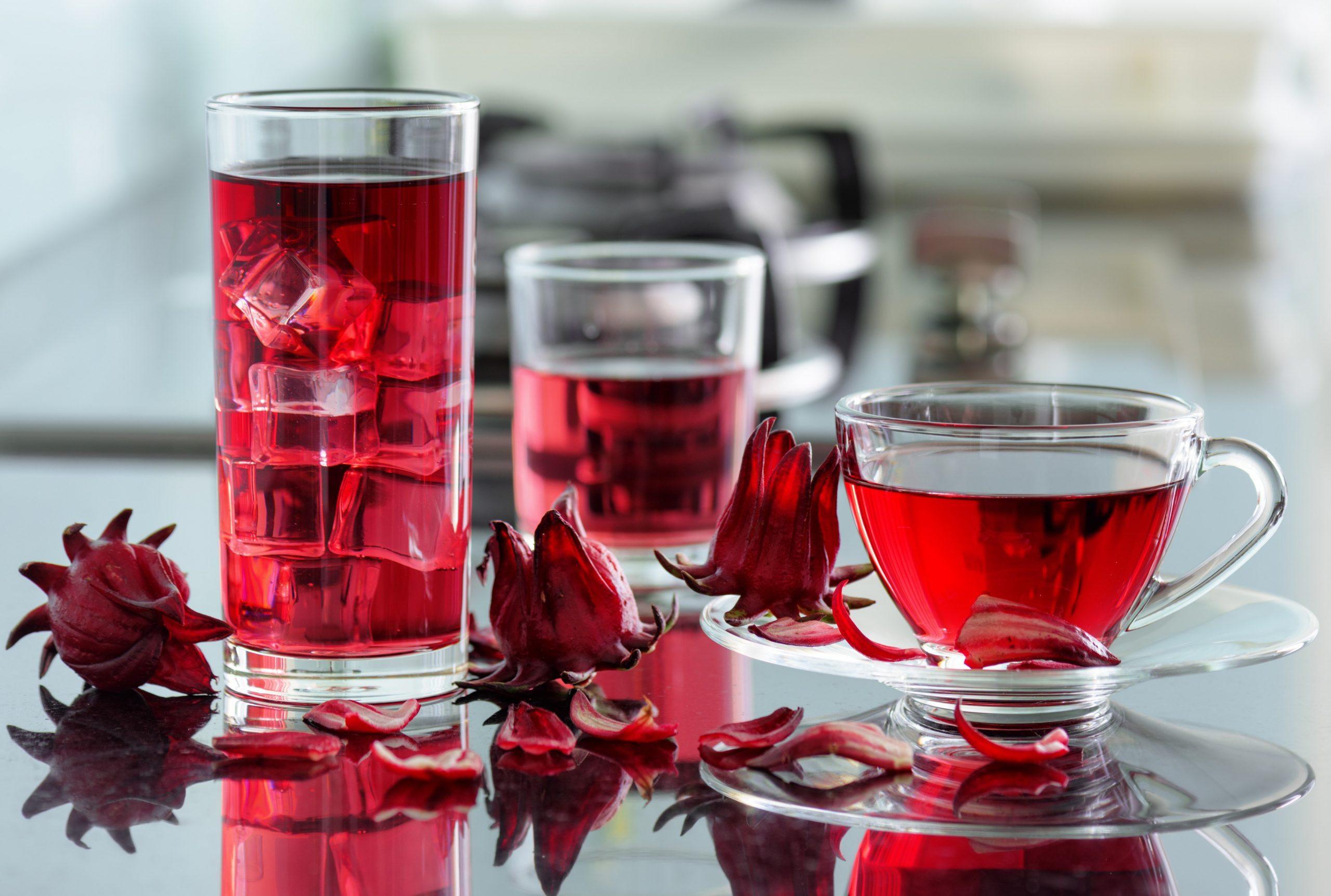 trà bụt giấm là thức uống giải nhiệt và kích thích tiêu hóa