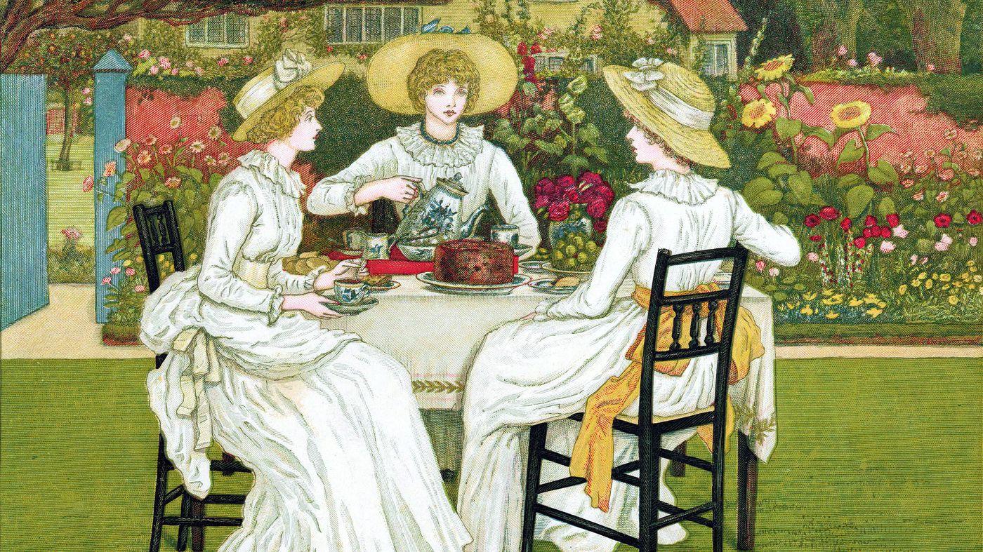 Những người bạn của nữ công tước cũng được mời đến những buổi Trà chiều (ảnh minh họa)