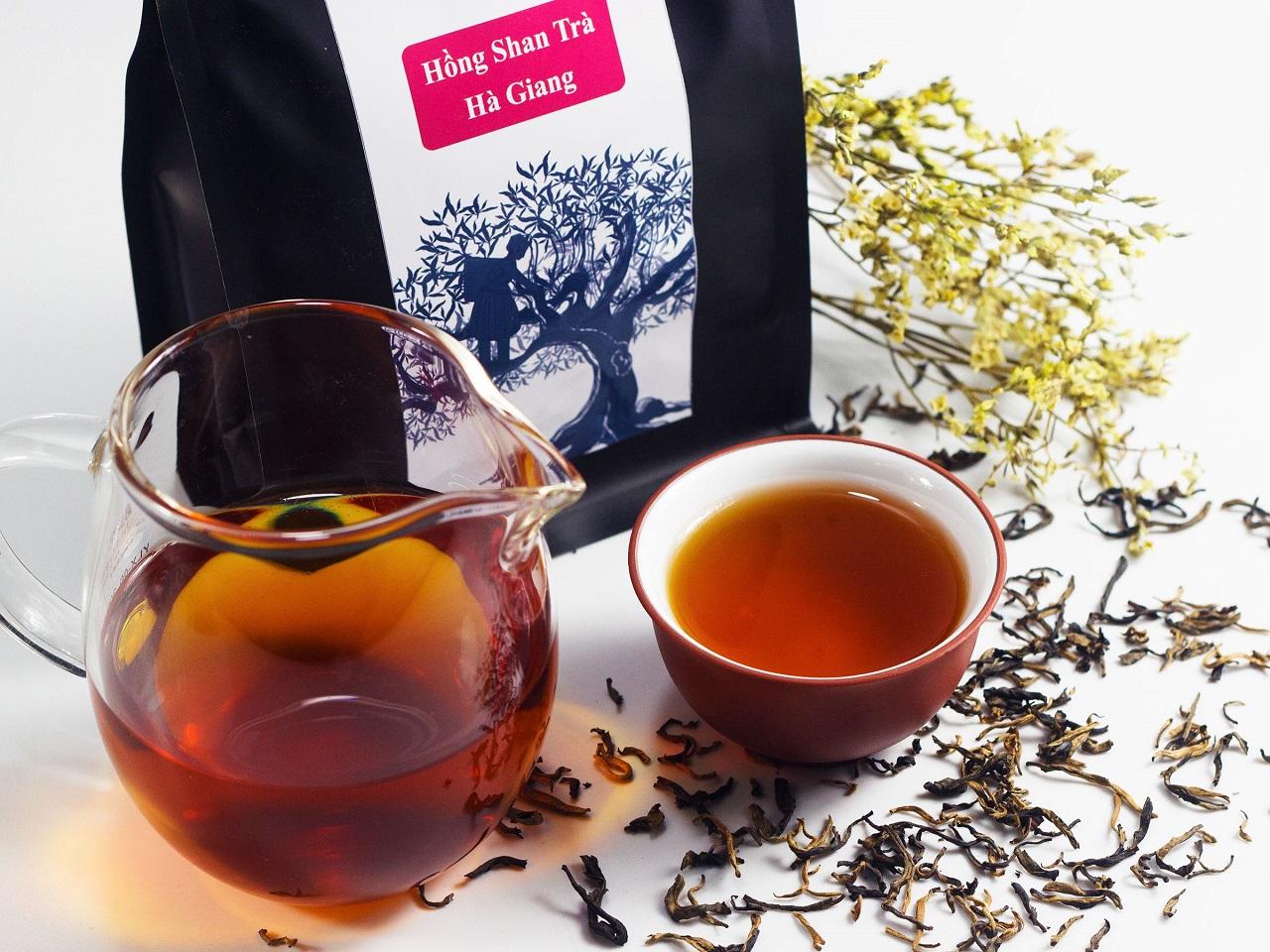 Hồng Shan Trà Hà Giang được các bậc sành trà đánh giá là một trong các loại hồng trà ngon nhất Việt Nam