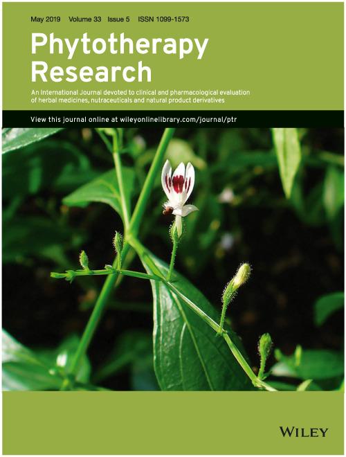 Nghiên cứu về tương quan giữa trà và giảm cân trên tâp san phytotherapy research