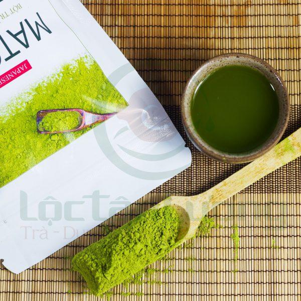 bột trà xanh matcha nhật bản