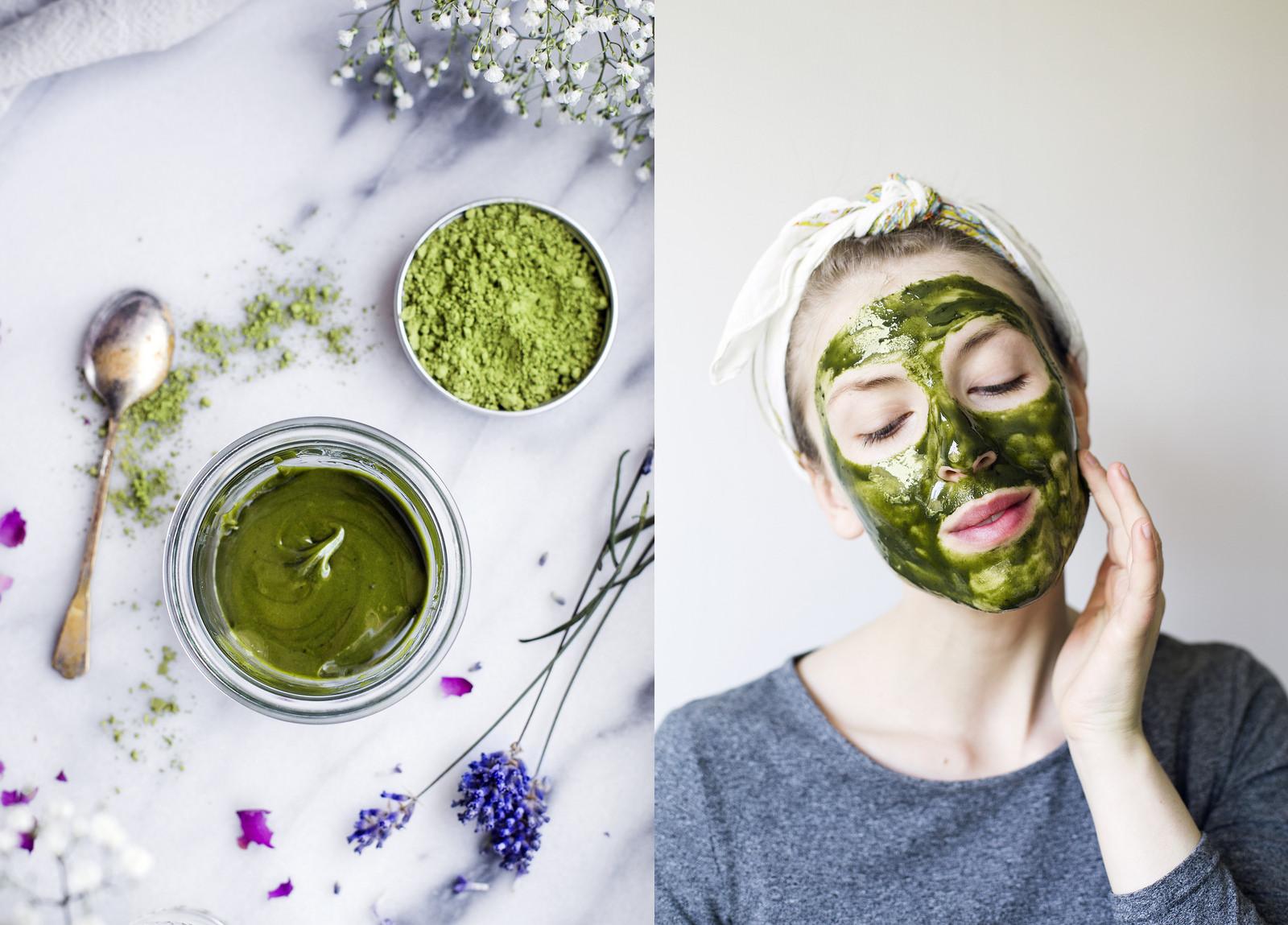 chăm sóc da mặt bằng bộ trà xanh là lựa chọn vô cùng thông minh