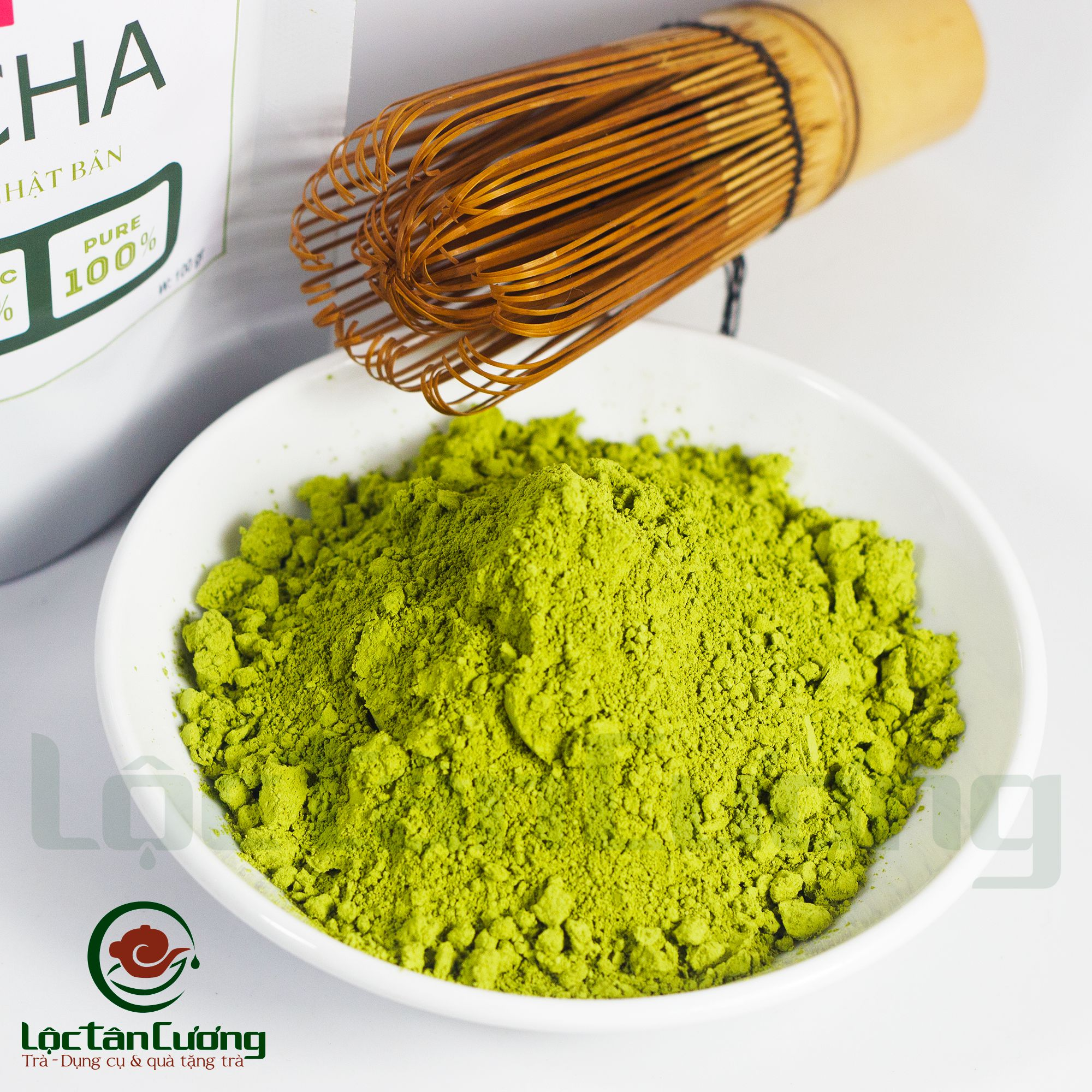 loại bột trà xanh nổi tiếng nhất thế giới đó là matcha của Nhật