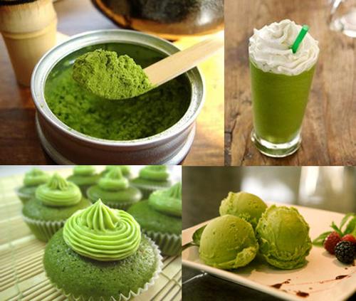 trà xanh có rất nhiều công dụng khác nhau trong lĩnh vực ẩm thực