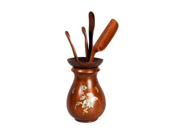 bộ gắp trà gỗ hương (1)