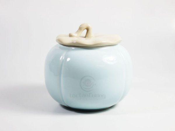 hũ đựng trà quả bí (2)