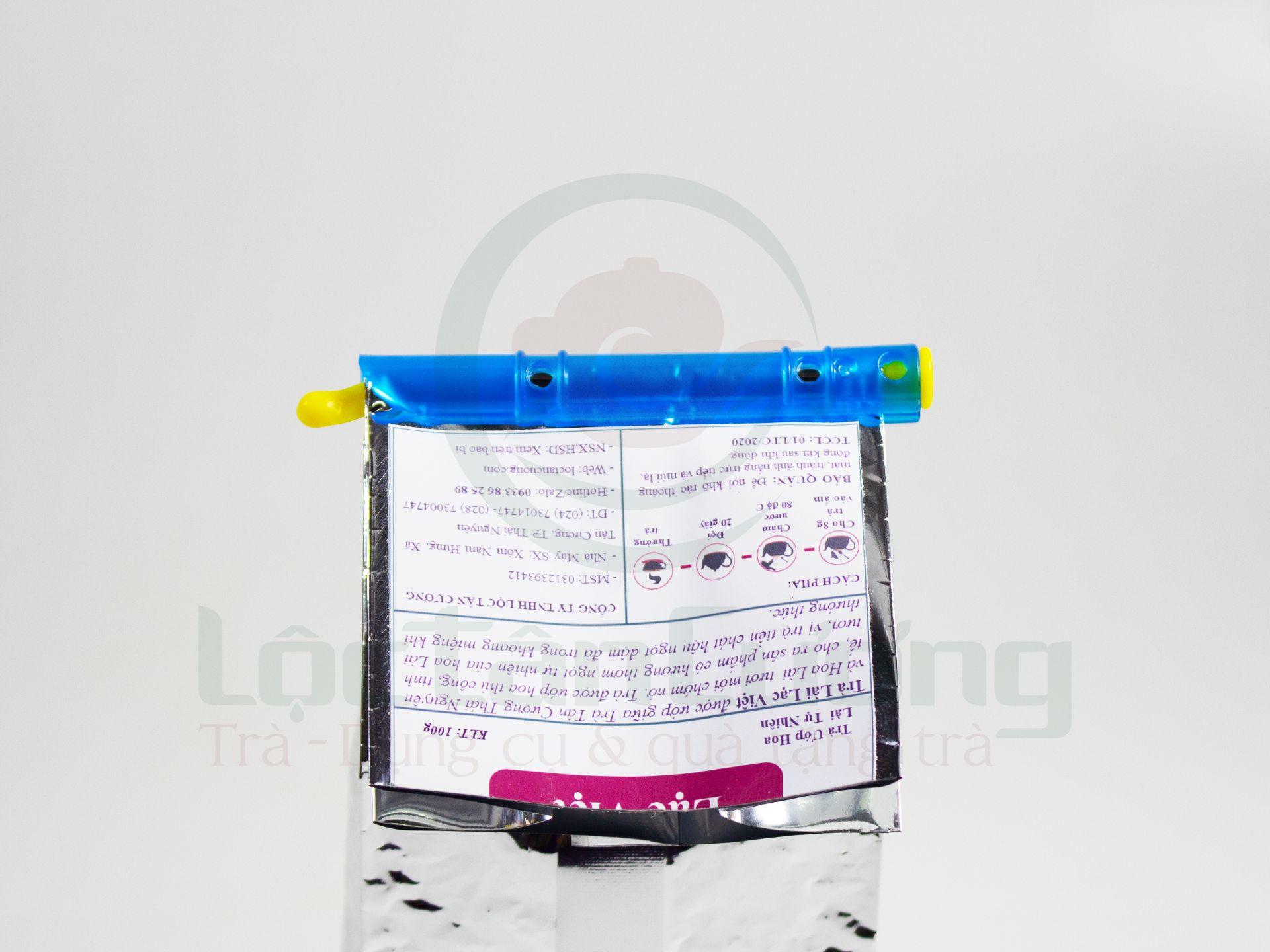 Kẹp bảo quản túi trà vô cùng tiện lợi và dễ sử dụng