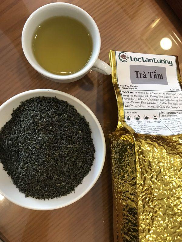 Trà tấm Thái Nguyên - Đây là loại chè Thái Nguyên giá rẻ nhất tại Lộc Tân Cương