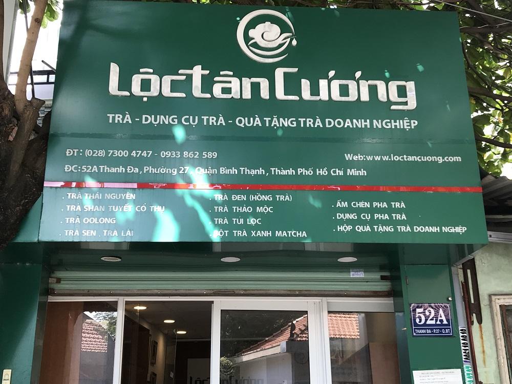 Cửa hàng bán trà bắc tại TPHCM